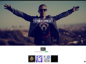 Stereo-Express_Website_by_I-Am-JOHANNES_1